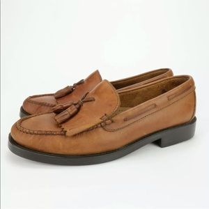 Bass Weejuns Marietta 2 II Brown Leather Loafers